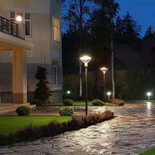 Монтаж уличного освещения дома и участка